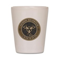 Zombie Response Tactical Team - Desert Shot Glass