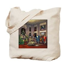 Your photos in a historical art gallery Tote Bag