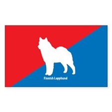 Lapphund Rectangle Decal