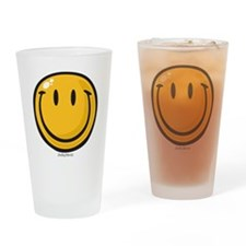 big smile smiley Drinking Glass