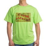 Flat N Dakota Green T-Shirt