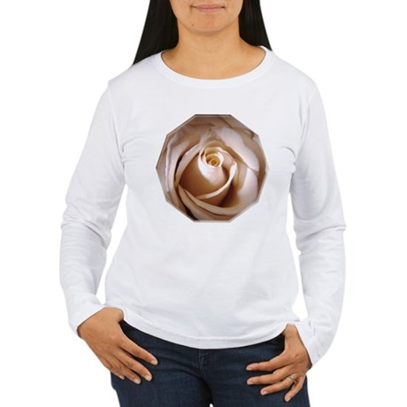 Ivory Rose Women's Long Sleeve T-Shirt