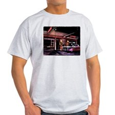 1950s Gas Station Scene T-Shirt