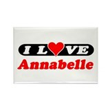 I Love Annabelle Rectangle Magnet (100 pack)