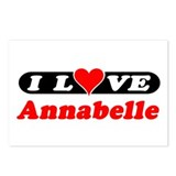 I Love Annabelle Postcards (Package of 8)