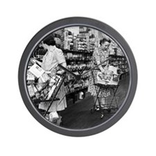 1930s grocery store Wall Clock