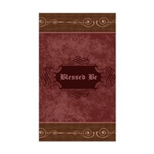 Blessed Be Vintage (Red) Decal