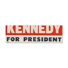 kennedy for president bumper sti Car Magnet 10 x 3