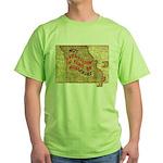 Flat Missouri Green T-Shirt