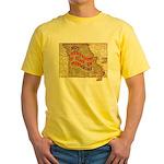 Flat Missouri Yellow T-Shirt