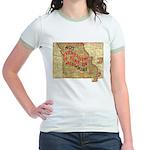 Flat Missouri Jr. Ringer T-Shirt
