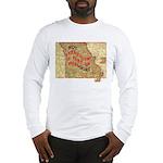 Flat Missouri Long Sleeve T-Shirt