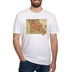 Flat Missouri Fitted T-Shirt