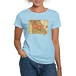 Flat Missouri Women's Light T-Shirt