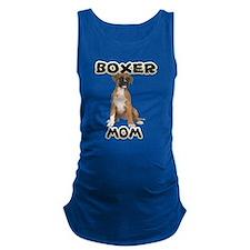 Boxer Mom Maternity Tank Top