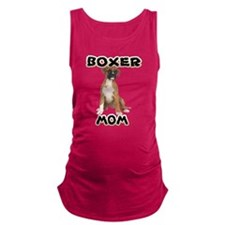 Boxer Mom Maternity Tank Top