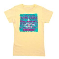 junker shirt bluewithpink Girl's Tee