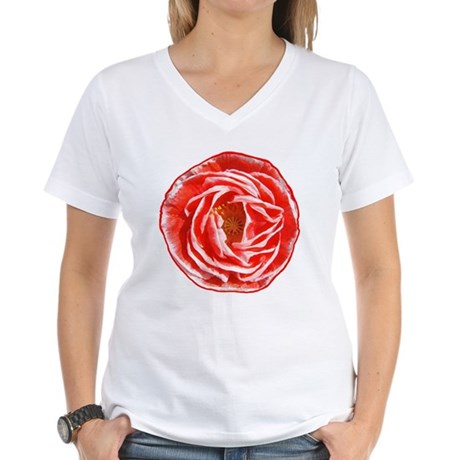 Shirley Poppy Women's V-Neck T-Shirt