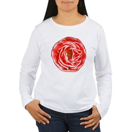 Shirley Poppy Women's Long Sleeve T-Shirt