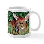 Baby White Tailed Deer Fawn Coffee Mug