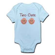 Two Cute Infant Bodysuit