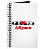 I Love Allyson Journal