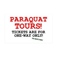 POISON - PARAQUAT TOURS. Wall Decal