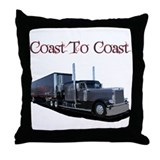 Coast To Coast Throw Pillow