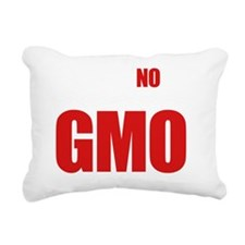 Say No To GMO Rectangular Canvas Pillow