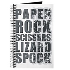 paper rock scissors lizard spock Journal