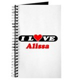 I Love Alissa Journal