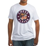 Chess Fitted T-Shirt