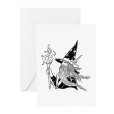 Wizard 1 Greeting Cards (Pk of 10)