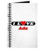 I Love Ada Journal