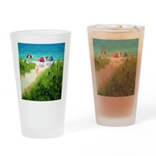 Beach Trail Drinking Glass