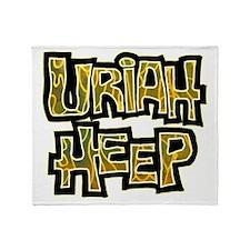 Uriah Heep Shirt Throw Blanket