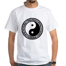 Yin & Yang Meanings White T-Shirt
