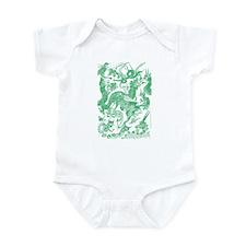 Jade Multidragon Infant Bodysuit