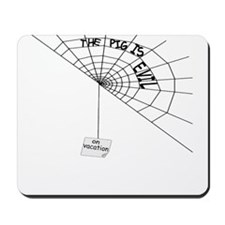 Charlotte's Web of Lies Mousepad