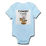 Cowgirl in Training Infant Creeper