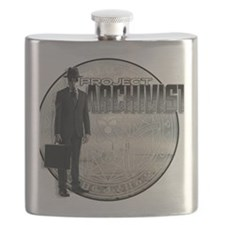 Project Archivist White T Flask