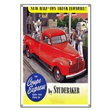 1946 studebaker truck ad Banner