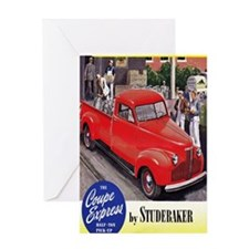 1946 studebaker truck ad Greeting Card