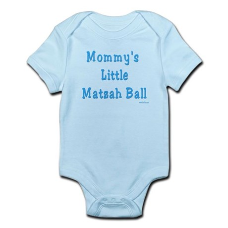 Mommy's Little Matzah Ball Passover Infant Bodysui