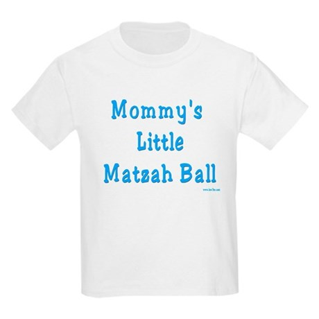 Mommy's Little Matzah Ball Passover Kids Light T-S