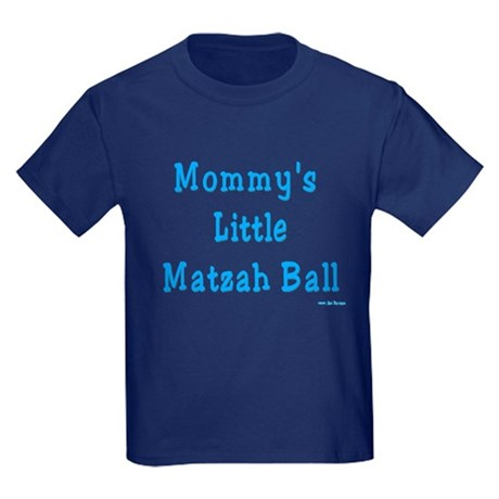 Mommy's Little Matzah Ball Passover Kids Dark T-Sh