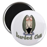 Bearded Clam Magnet
