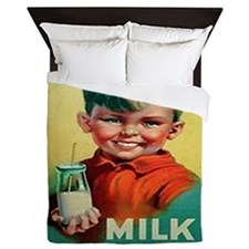MILK makes MEN Queen Duvet