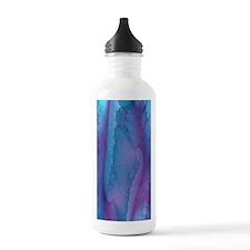 fancy blue and purple  Water Bottle