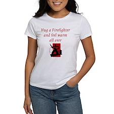 Hug A Firefighter Tee